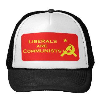 Los liberales son Commies Gorro De Camionero