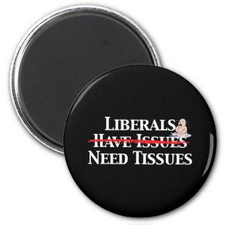 Los liberales tienen problemas imán redondo 5 cm