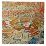 Los libros amarillos, 1887 azulejo cuadrado grande