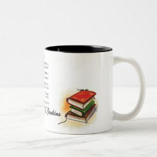 los libros, hoja de música, le quiero, leí, música taza de café