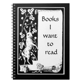 Los libros I quieren leer Libreta
