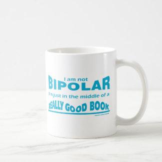 Los libros me hacen bipolar taza
