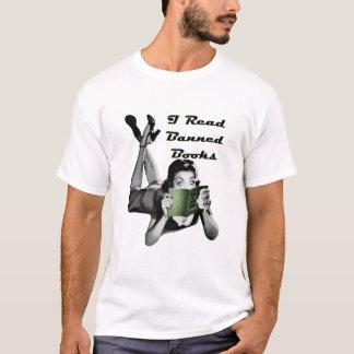 Los libros prohibidos uno echaron a un lado camisa