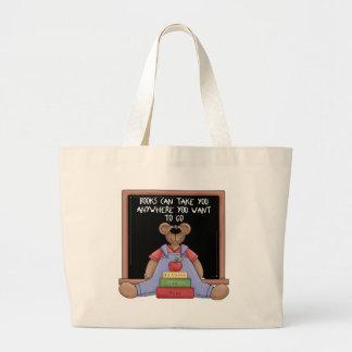 Los libros pueden tomarle dondequiera la bolsa de