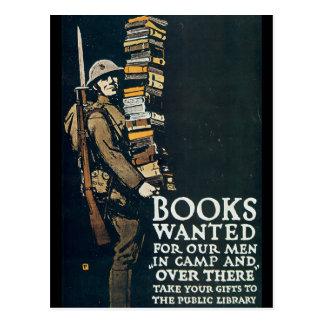 Los libros quisieron la Segunda Guerra Mundial Postal