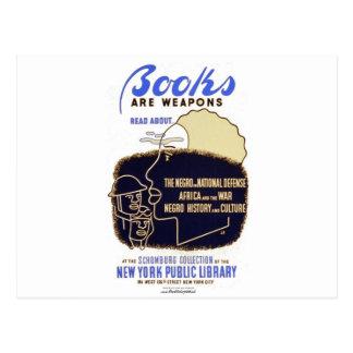 """Los """"libros son armas """" postales"""