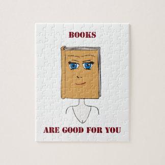 Los libros son buenos para usted puzzles