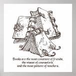 Los libros son constantes posters