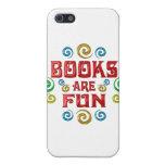 Los libros son DIVERSIÓN iPhone 5 Cárcasas