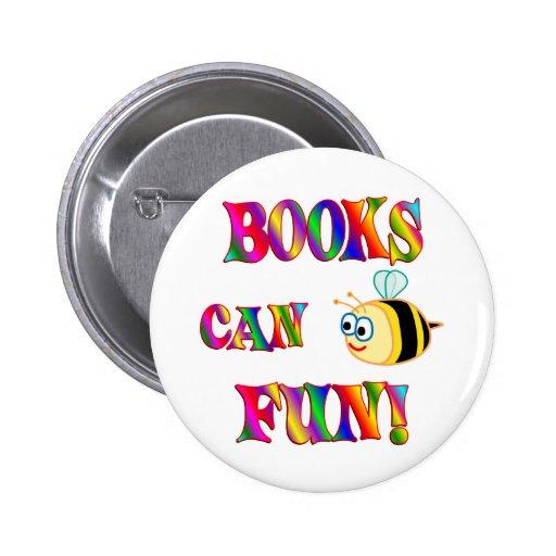 Los libros son diversión pins