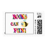 Los libros son diversión sellos