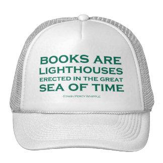 Los libros son faros gorras de camionero