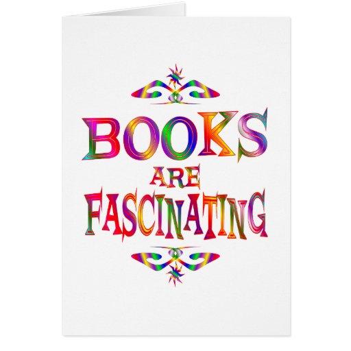 Los libros son fascinadores felicitación