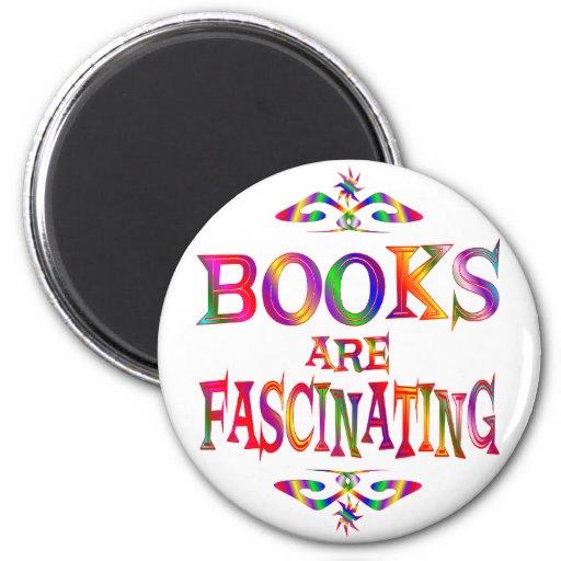 Los libros son fascinadores imán para frigorifico