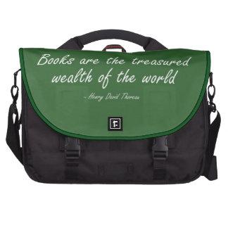Los libros son la riqueza atesorada del mundo