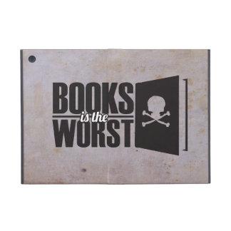 Los libros son los peores iPad mini funda