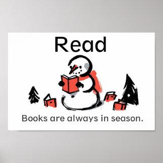 Los libros son siempre poster de temporada