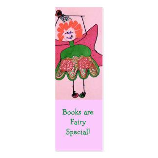 ¡Los libros son Special de hadas! Tarjetas De Visita Mini