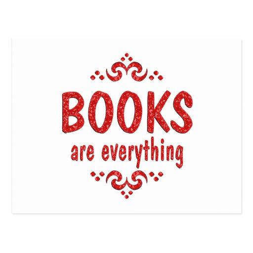 Los libros son todo postal