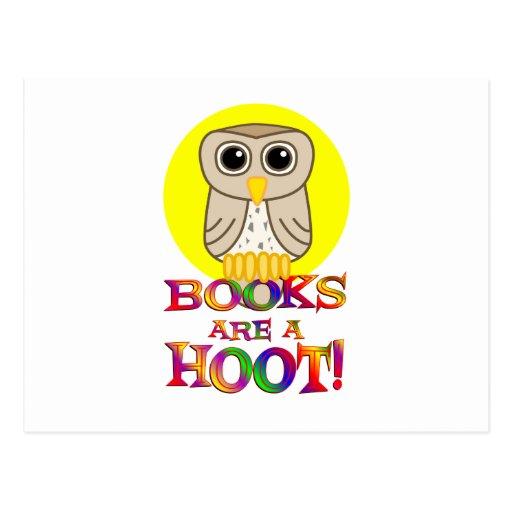 Los libros son un pitido postal