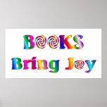 Los libros traen el poster de la alegría - comenza