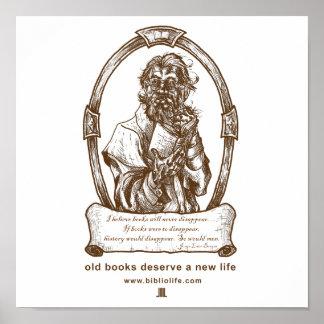 Los libros viejos merecen un nuevo poster de la vi