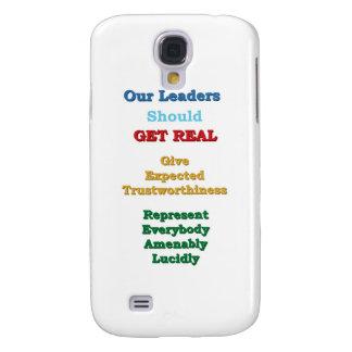 Los líderes CONSIGUEN REALES Funda Para Galaxy S4