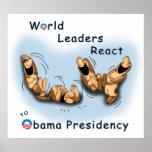 Los líderes mundiales reaccionan (Obama) Poster