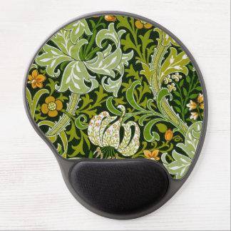 Los lirios del jardín de William Morris multan el Alfombrilla De Raton Con Gel