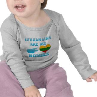Los Lithuanians son mi Homies Camisetas