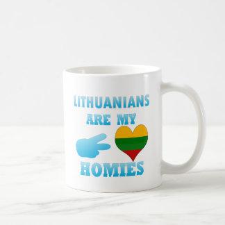 Los Lithuanians son mi Homies Taza Clásica