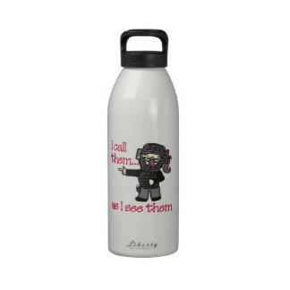 Los llamo botella de agua reutilizable