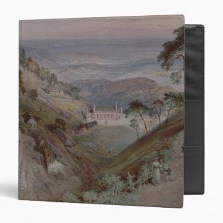 "Los llanos, iglesia de Landour, Mussoorie, 1884 Carpeta 1 1/2"""