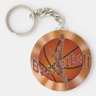 Los llaveros del baloncesto con moderno refrescan