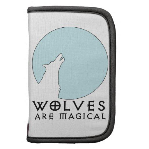 Los lobos son mágicos organizadores