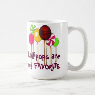 Los Lollipops son mi favorito Tazas De Café