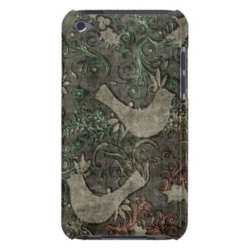 Los LoveBirds del vintage grabaron en relieve el t Case-Mate iPod Touch Cárcasa