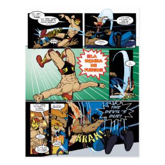 Los Luchadores Mysteriosos Postcard