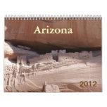 Los lugares especiales de Arizona Calendario De Pared