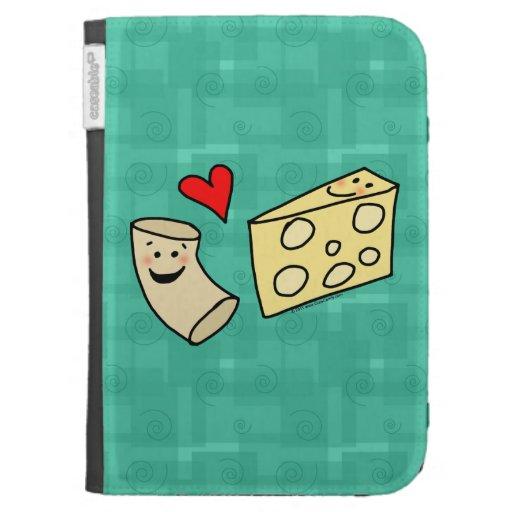 Los macarrones aman el queso
