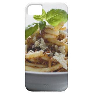 Los macarrones con pican la salsa y el queso iPhone 5 funda