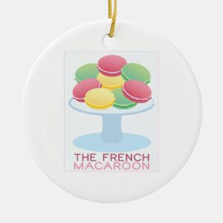 Los macarrones franceses ornamentos para reyes magos