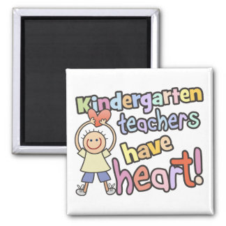 Los maestros de jardín de infancia tienen imán del
