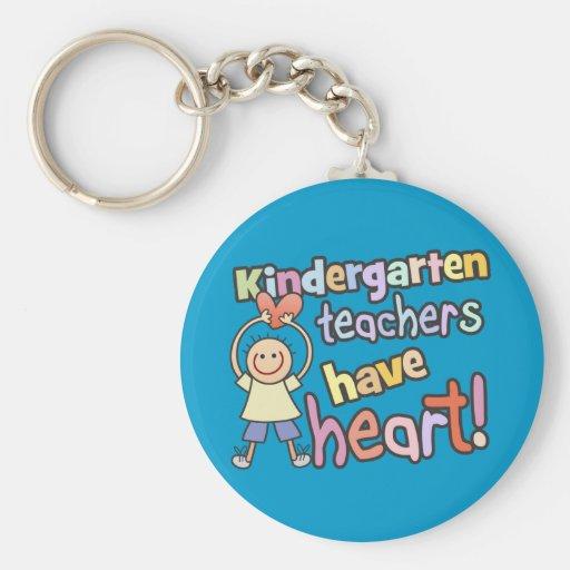 Los maestros de jardín de infancia tienen llavero