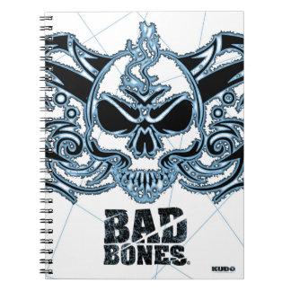 Los malos huesos quemados se fueron volando el crá cuadernos