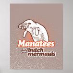 LOS MANATEES SON APENAS LAS SIRENAS DE LA MARIMACH POSTER