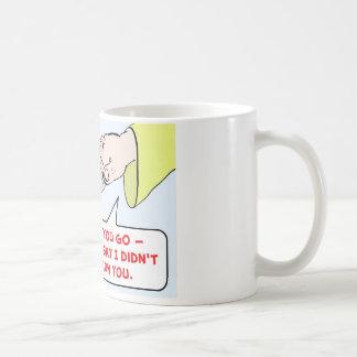 los mandamientos de dios de Moses advierten Tazas De Café