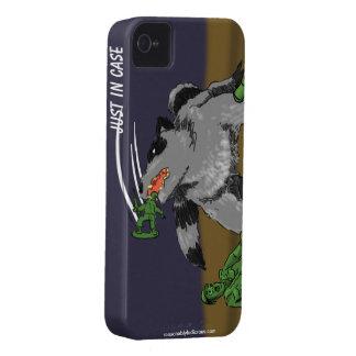 Los mapaches comieron a mis tipos del ejército iPhone 4 Case-Mate carcasa