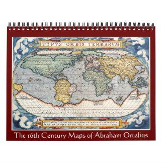 Los mapas de Abraham Ortelius 2012 Calendarios De Pared