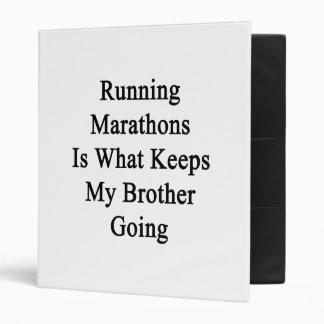 Los maratones corrientes son qué guarda mi ir de B